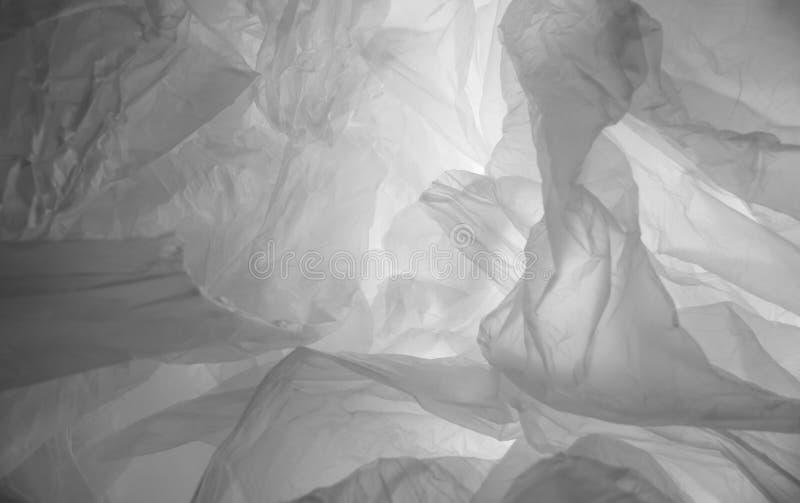 Uno strato di plastica trasparente fotografia stock libera da diritti
