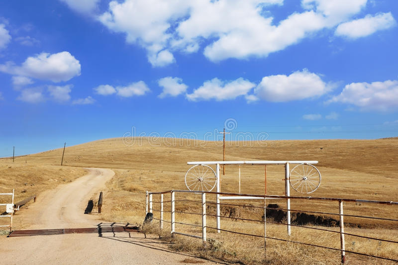 Unpaved Country Road Royalty Free Stock Images