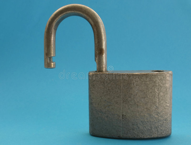 Download Unprotected Lock stock image. Image of iron, safety, aged - 487561