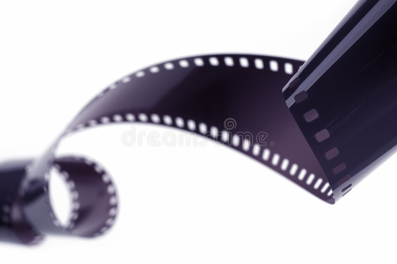 Unraveled Film royalty free stock images