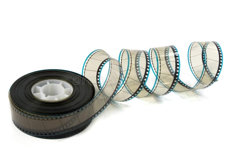 Unravelling трейлера кино стоковое фото