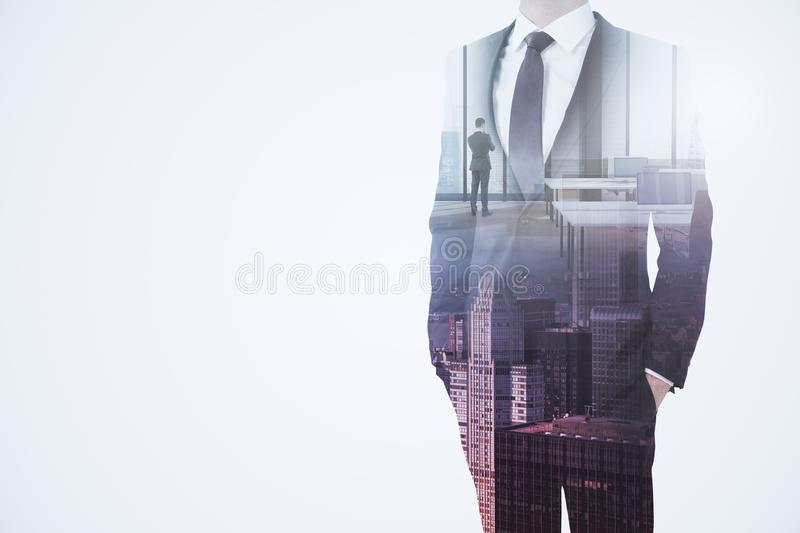 Success and think concept stock illustration