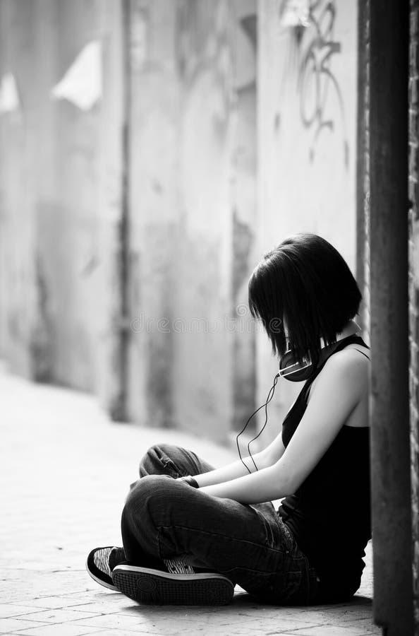 Download Unrecognizable Urban Girl. Stock Image - Image: 14706331