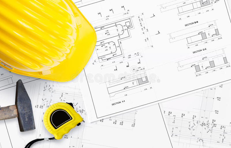 Construction Plan Maison Photos Free Royalty Free Stock Photos From Dreamstime