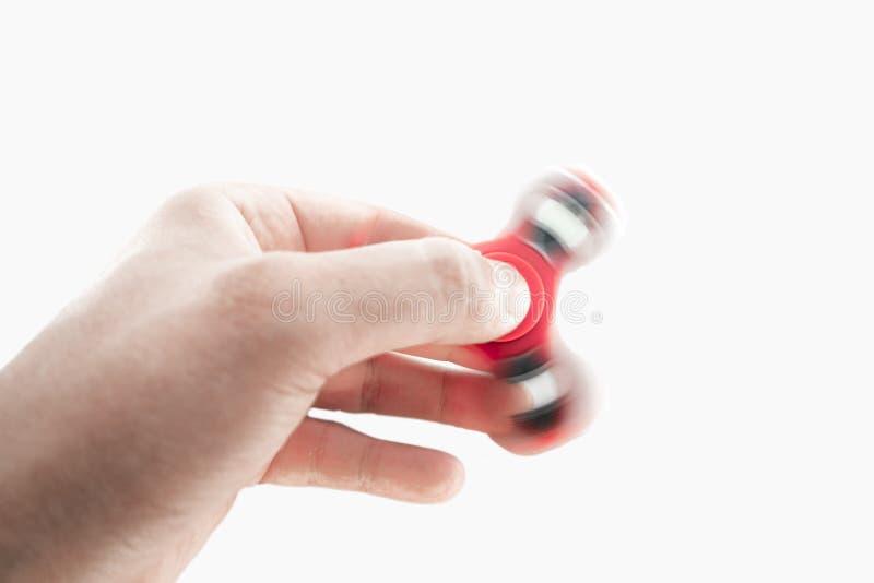 Unruhe-Spinner in der Hand lizenzfreies stockfoto