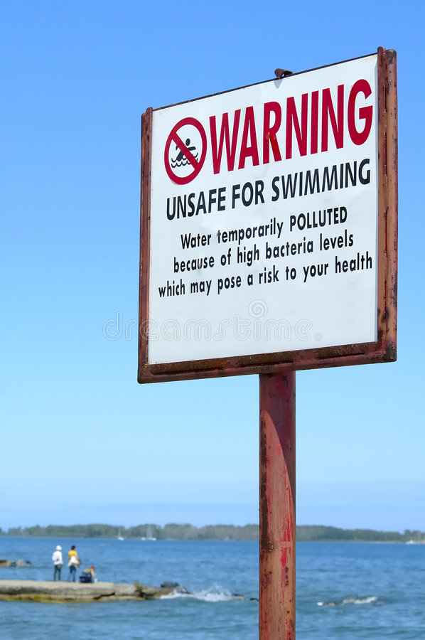Free Unsafe For Swimming Stock Image - 151721