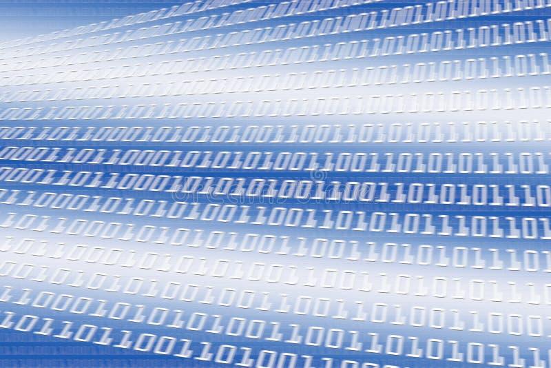 Unschärfe des binären Codes stockbild