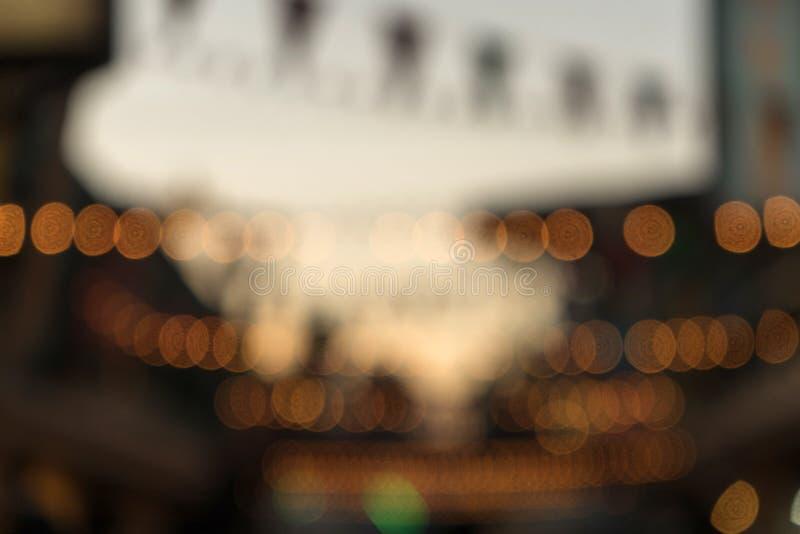 Unschärfebild und -licht lizenzfreie stockfotos