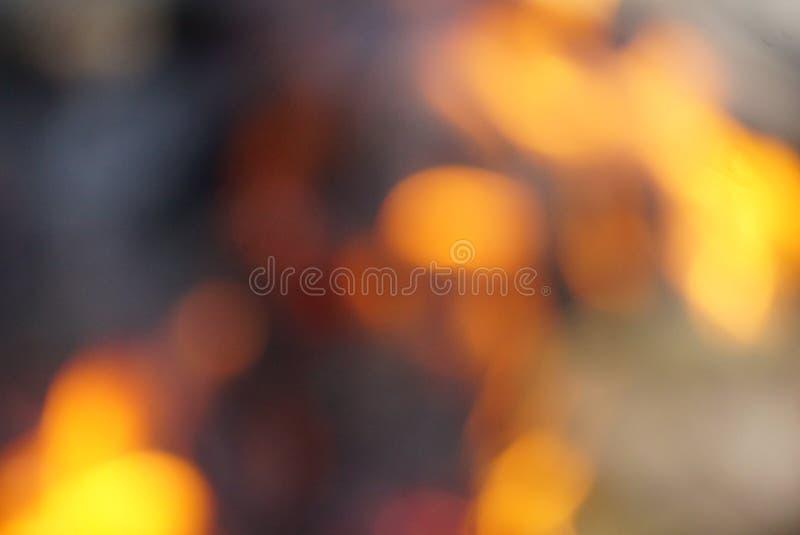 Unschärfeflamme lizenzfreie stockfotografie