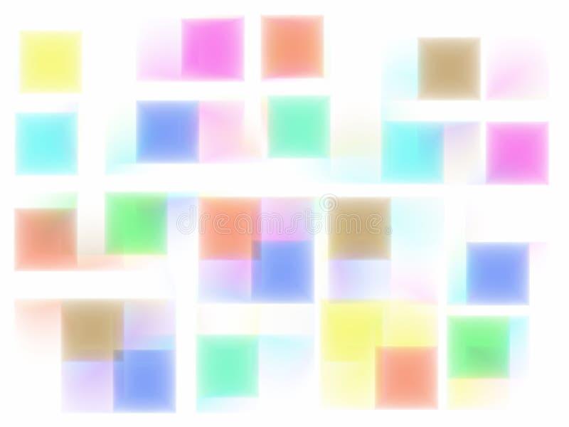 Unschärfenfarbenhintergrund stock abbildung