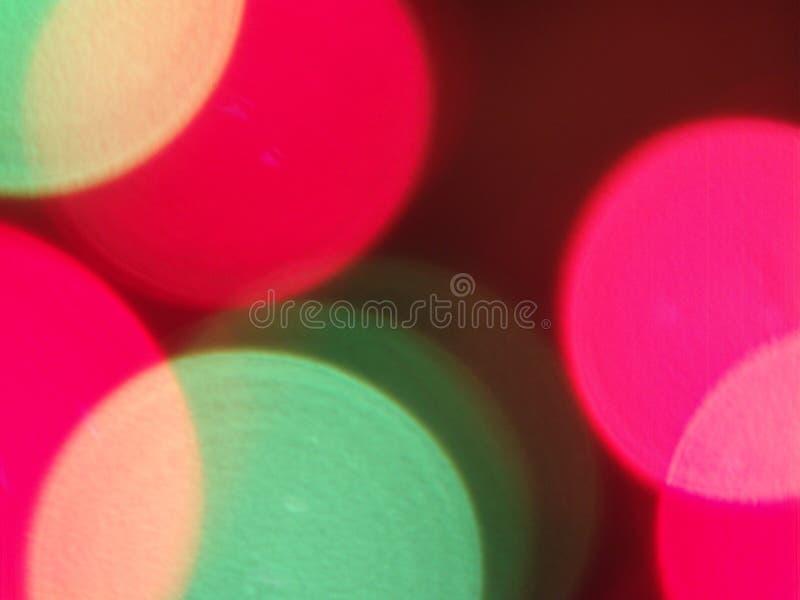 Unscharfe abstrakte Leuchte stockfotos