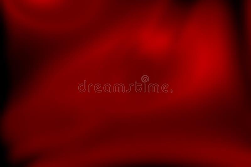 Unscharfe Zusammenfassung dunkelrot mit hellem Hintergrund Entwurf der rote Farbeleganz, des glatten, neuen Jahres, des Hintergru stock abbildung