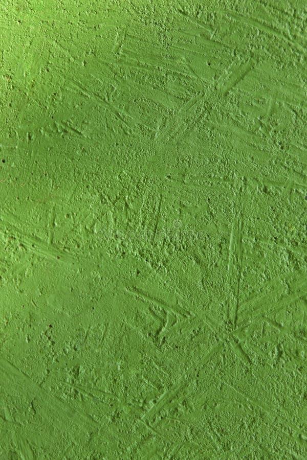 Unscharfer abstrakter Hintergrund Beschaffenheit malte konkrete raue Oberfläche mit grüner Farbe der Sprünge und der Unregelmäßig stockfotos