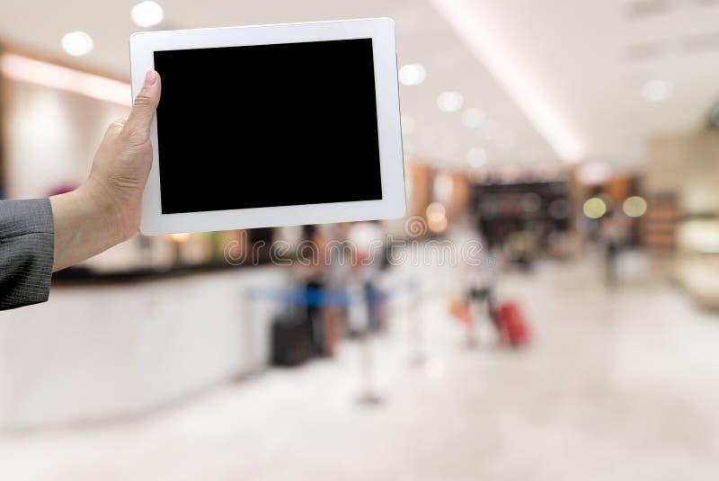 Unscharfer Hintergrund des Hotels Lobby stockbilder