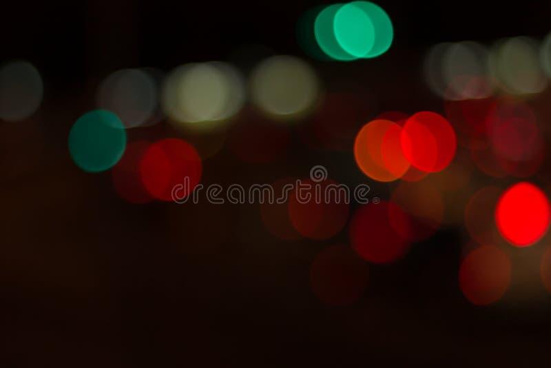 Unscharfes Bild von Lichtern lizenzfreie stockfotografie