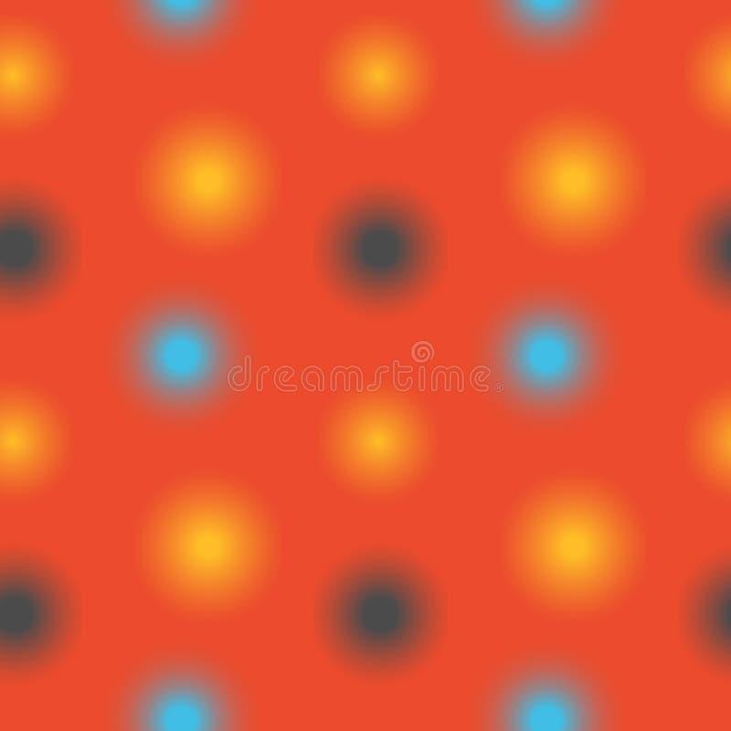 Download Unscharfes Nahtloses Muster Der Lichter Vektor Abbildung - Illustration von funkeln, glühen: 106803674