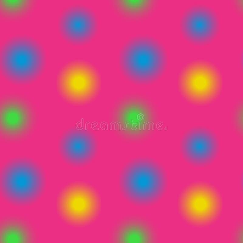 Download Unscharfes Nahtloses Muster Der Lichter Vektor Abbildung - Illustration von partei, unschärfe: 106803716
