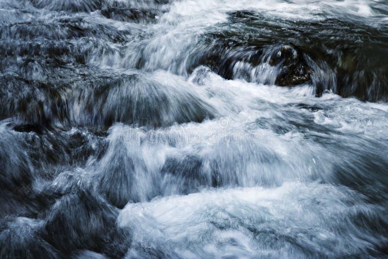 Unscharfes Schmutzwasser lizenzfreie stockfotografie