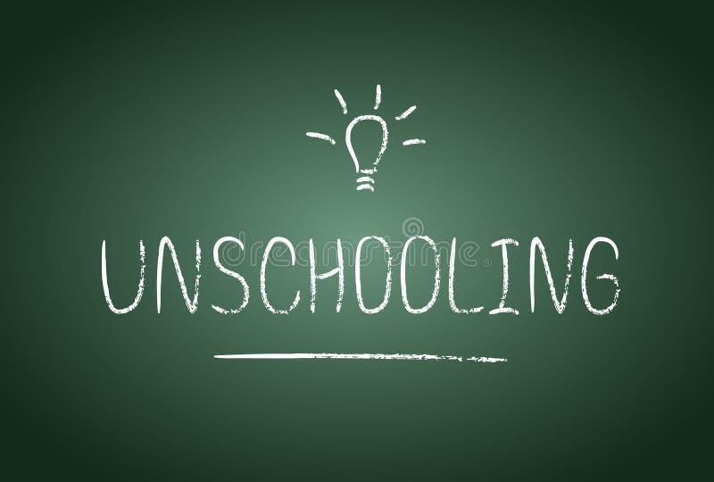 Unschooling illustration libre de droits