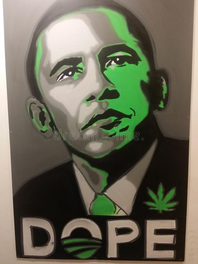 Unser Präsident lizenzfreies stockfoto