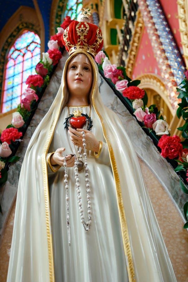 Unsere Dame von FÃ-¡ tima, ¡ La Virgen de FÃ tima stockbilder