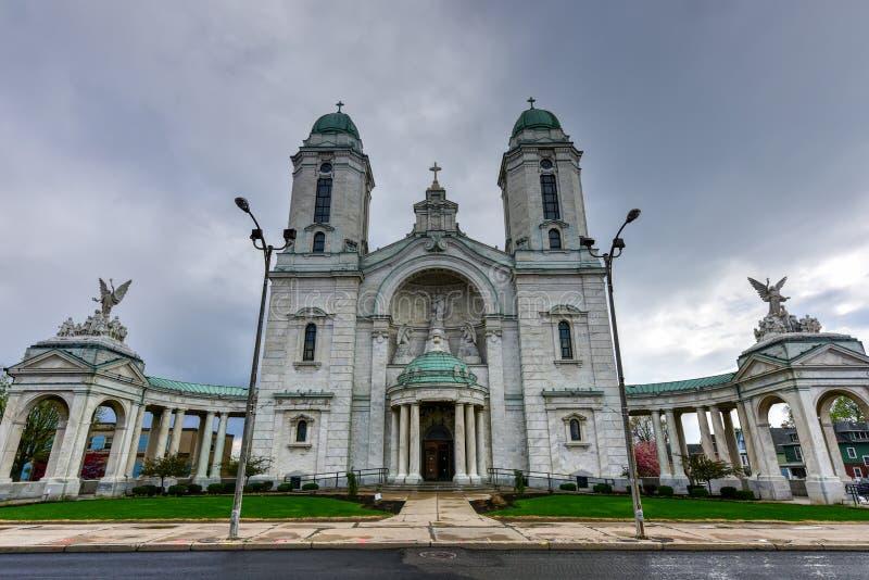 Unsere Dame von Victory Basilica - Lackawanna, NY lizenzfreie stockbilder