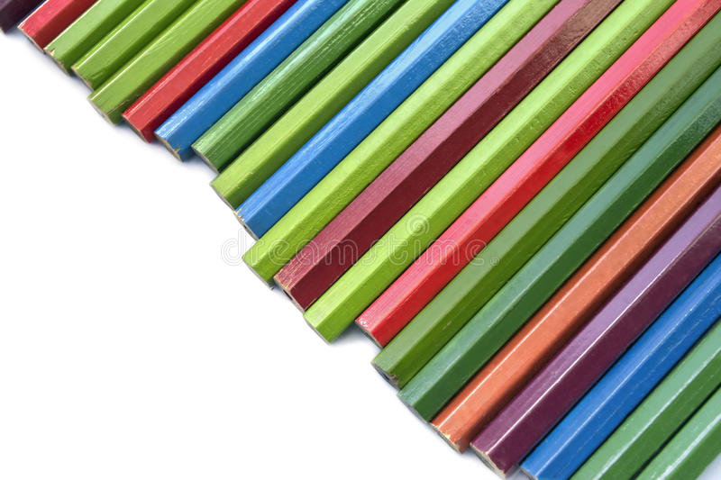 Unsharpened pencils royalty free stock photos