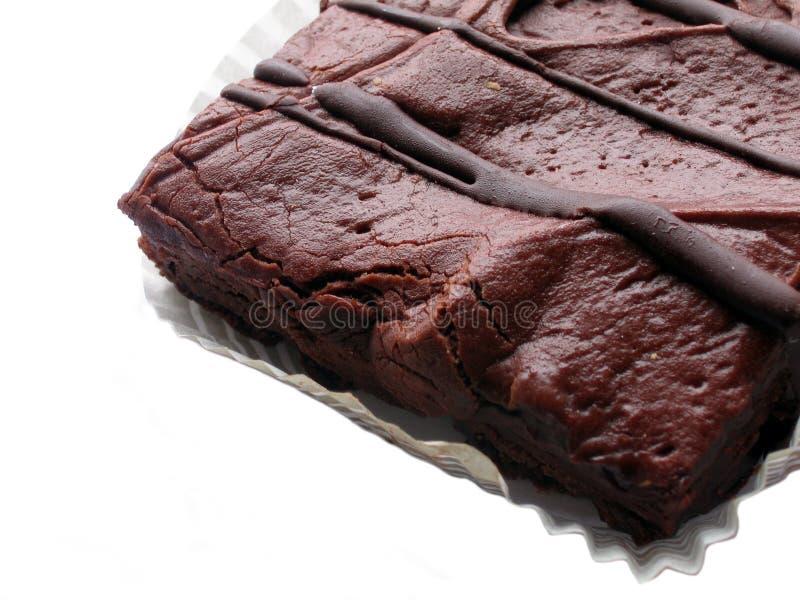 Unsinn-Schokoladenkuchen stockbilder
