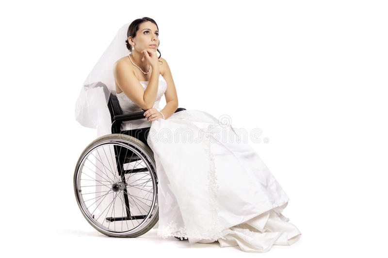 Untaugliche Braut lizenzfreie stockfotos