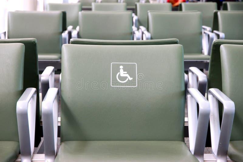 Untauglicher Sitz lizenzfreie stockfotografie