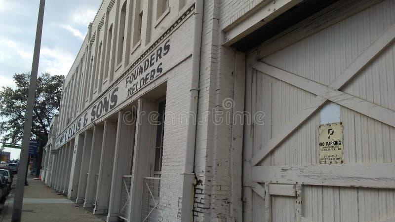 Unten Stadt Memphis stockbild