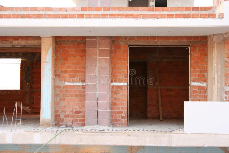 Unter-Aufbau Wohnung stockbilder