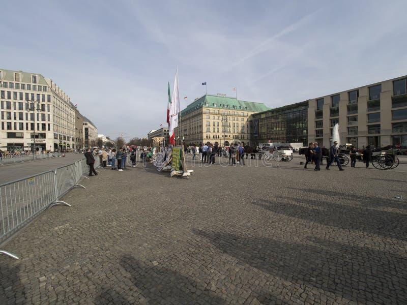 Unter den Linden avenue, Berlin stock image