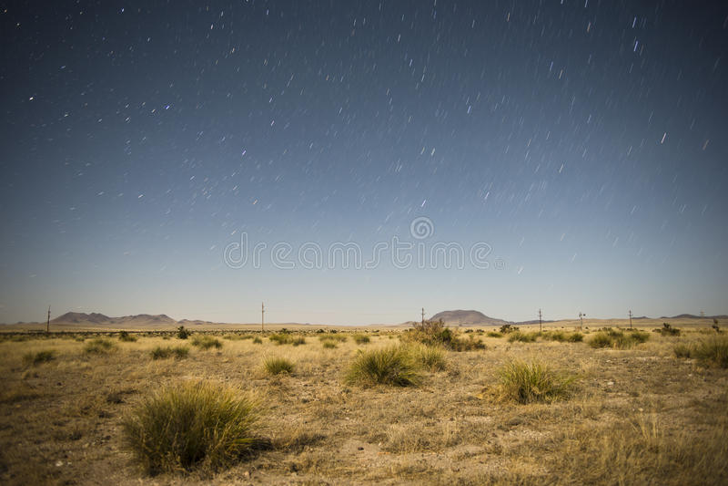 Unter den Sternen lizenzfreie stockfotografie