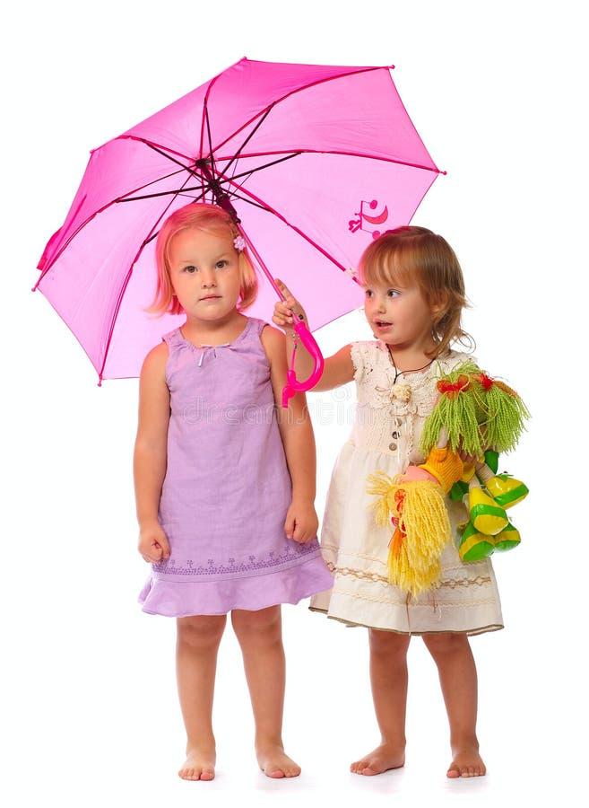 Unter Regenschirm stockbilder