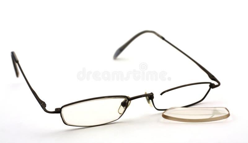 Unterbrochene Gläser stockfotos