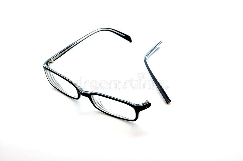 Unterbrochene Gläser lizenzfreies stockbild