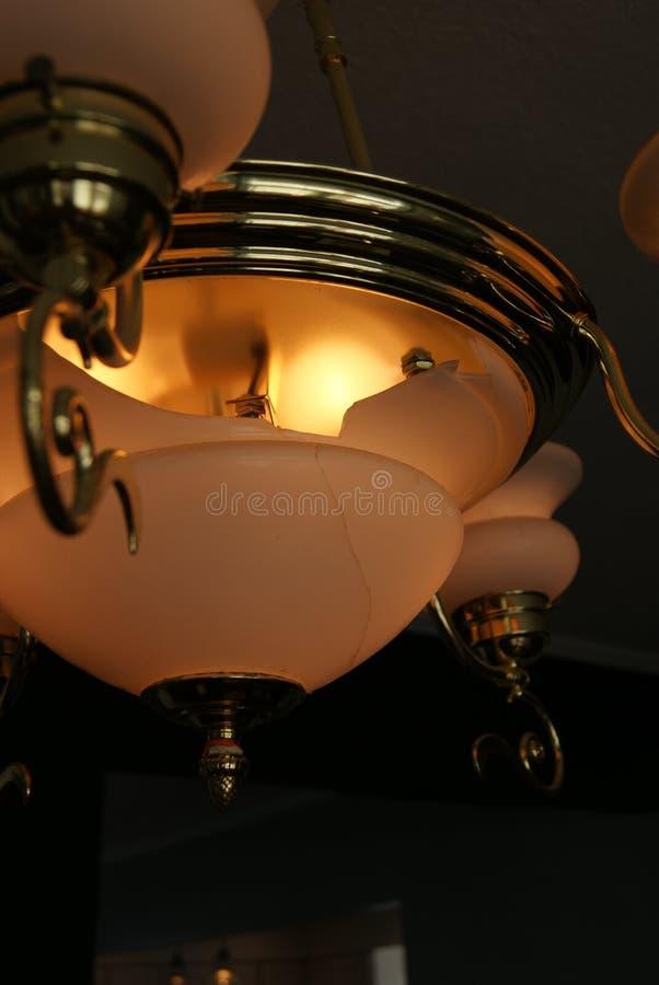 Unterbrochene Leuchte lizenzfreie stockbilder