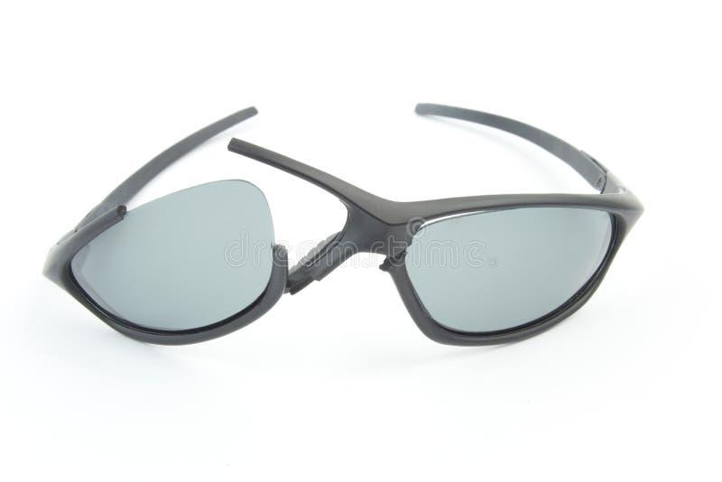 Unterbrochene Sportartsonnenbrillen lizenzfreie stockfotografie