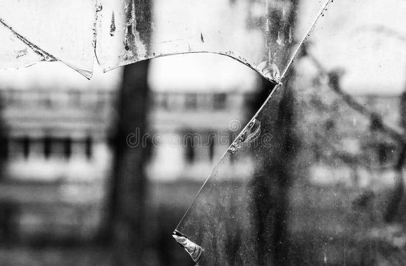 Unterbrochener Glashintergrund lizenzfreies stockbild
