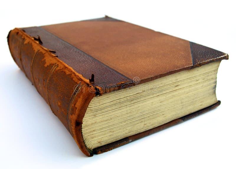 Unterbrochenes Buch mit in Perspektiveansicht stockfoto
