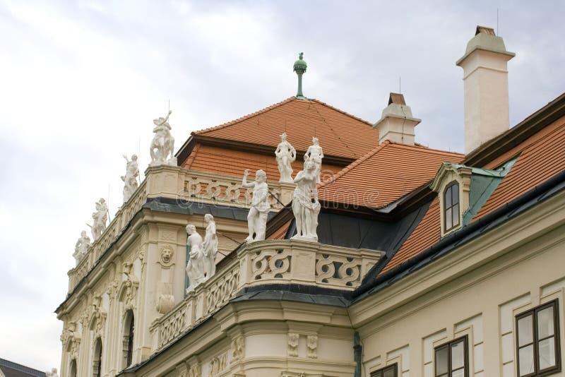 Unteres Belvedereferienhaus Wiens Österreich stockfotos