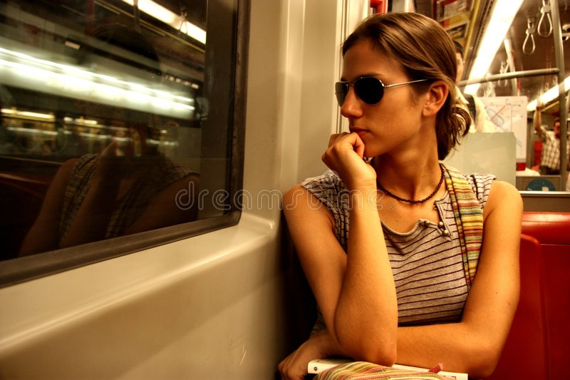 Untergrundbahn lizenzfreies stockbild