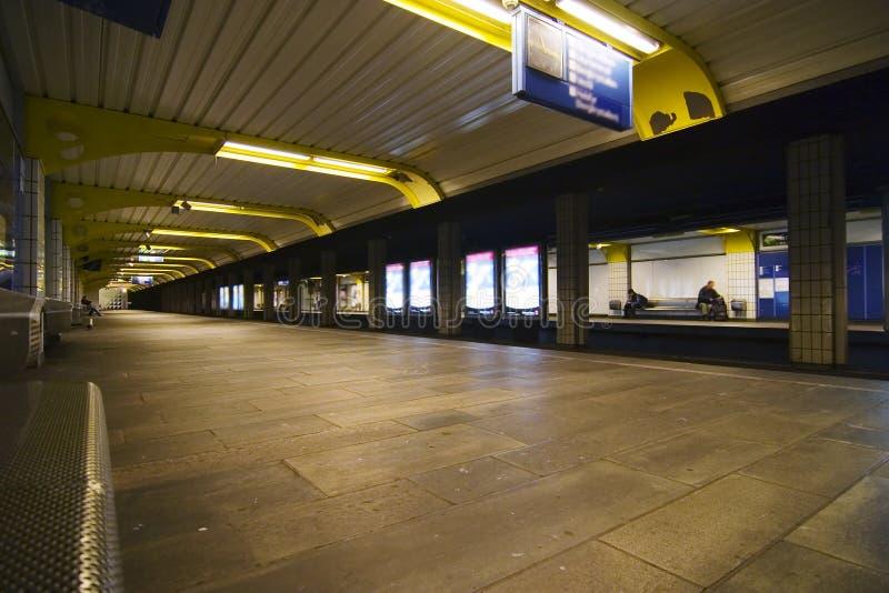 Untergrundbahn-Auszug lizenzfreie stockfotos