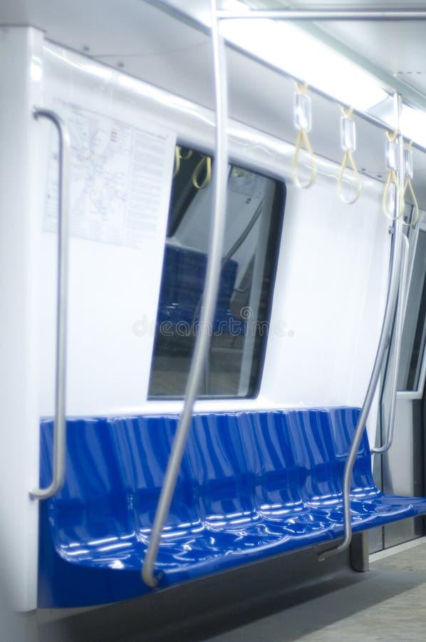 Untergrundbahninnenraum lizenzfreie stockbilder