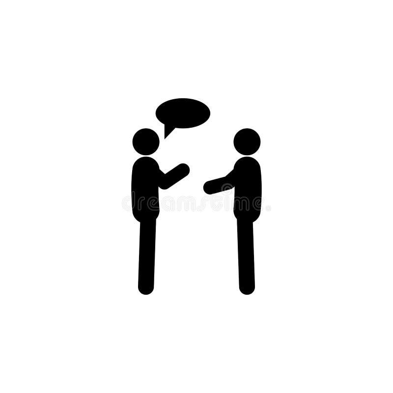 Unterhaltungsikone von zwei Leuten. Einfache Glyphe, flache People-Icons für UI und UX, Website oder mobile Anwendungen vektor abbildung