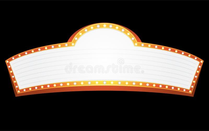 Unterhaltungszeichen stock abbildung