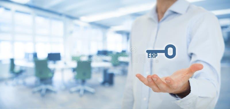 Unternehmens-Hilfsmittel-Planung ERP stockfotos