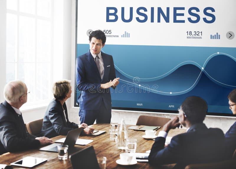 Unternehmensanalyse-Diagramm-Daten-Grafik-Konzept lizenzfreie stockfotografie