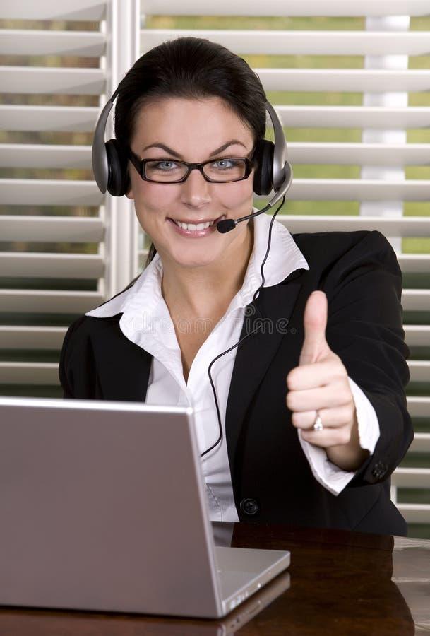 Unternehmensfrau lizenzfreies stockfoto